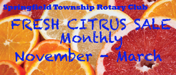 Springfield Rotary Announces Fruit Sale Prices for 2013-2014