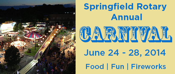 Save the Date: 6/24 – 6/28 for Springfield Township Rotary Annual Carnival