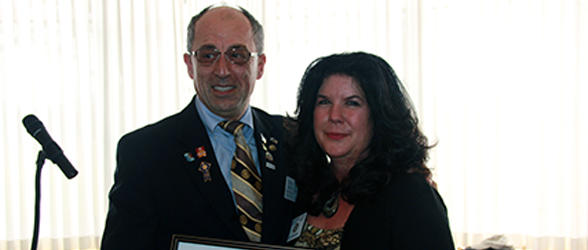 Joy Zwicker Receives Rotary International Recognition
