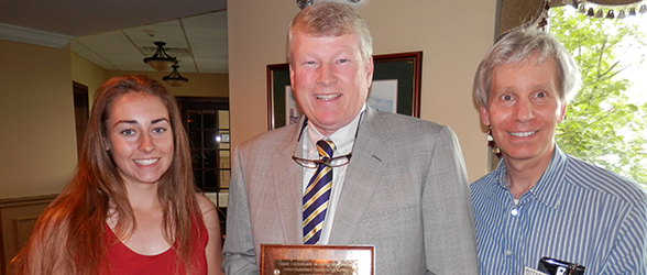 Golf Greats Honored with Annual Gene Gisburne Memorial Award