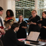 Choir Brings Holiday Spirit to Rotarians