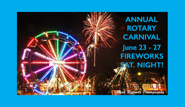 2015 Rotary Carnival Set for June 23 – 27