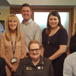 District Governor and Assistant Governor Visit Club