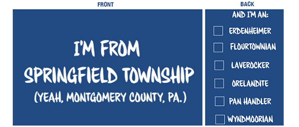 Order Your Springfield Township Tee Here!